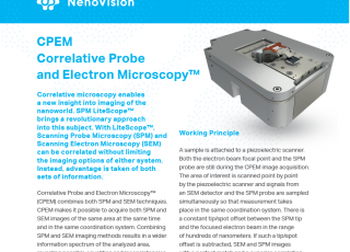 Check out our new CPEM Correlative Probe and Electron Microscopy™application note!