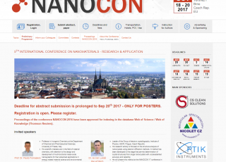 NenoVision has become the main partner of the NANOCON 2017